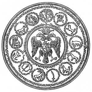 Большая государственная царская печать XVI века. Считается печатью Ивана Грозного.